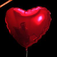 3d max heart balloon