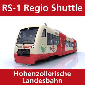 3ds rs-1 regio shuttle passenger train
