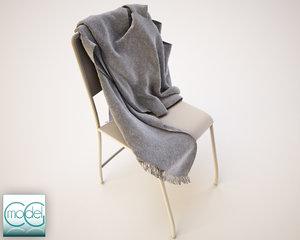 3d scarf model
