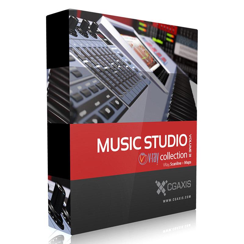 3d volume 31 music studio