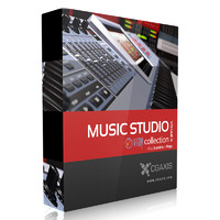 CGAxis Models Volume 31 Music Studio VRay