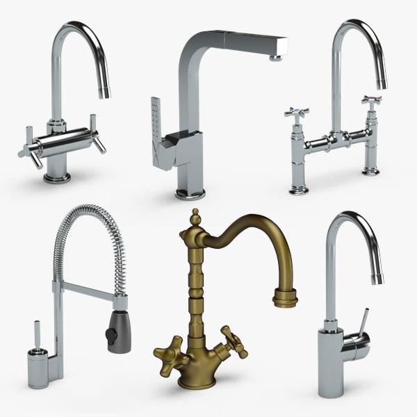 taps faucet 3d max