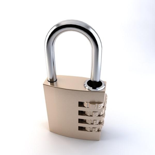 padlock lock max