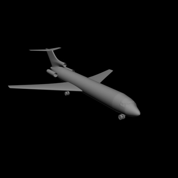 3d airplane air plane model
