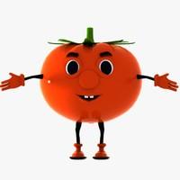 3dsmax tomato character