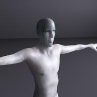 maya sci-fi character human