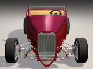 max 34 lowboy roadster hot rod