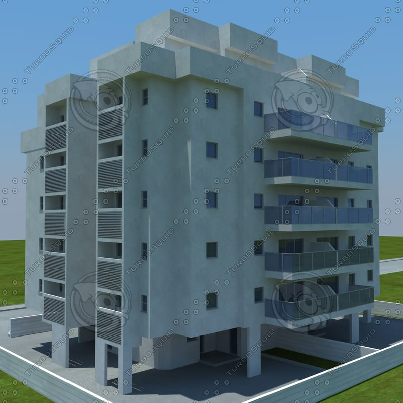 buildings 1 5 3d max