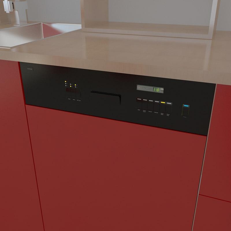 3d dishwasher 2011