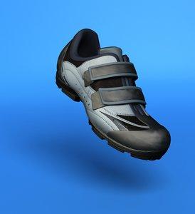 biker shoes 3d model