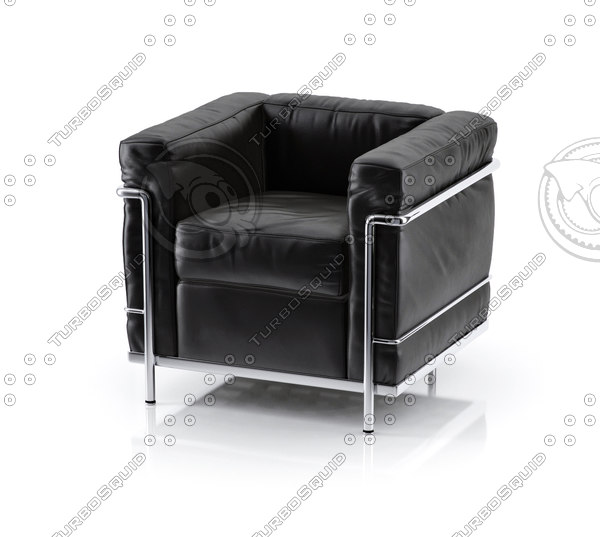 icon cassina armchair 3d max