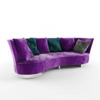 max velvet sofa