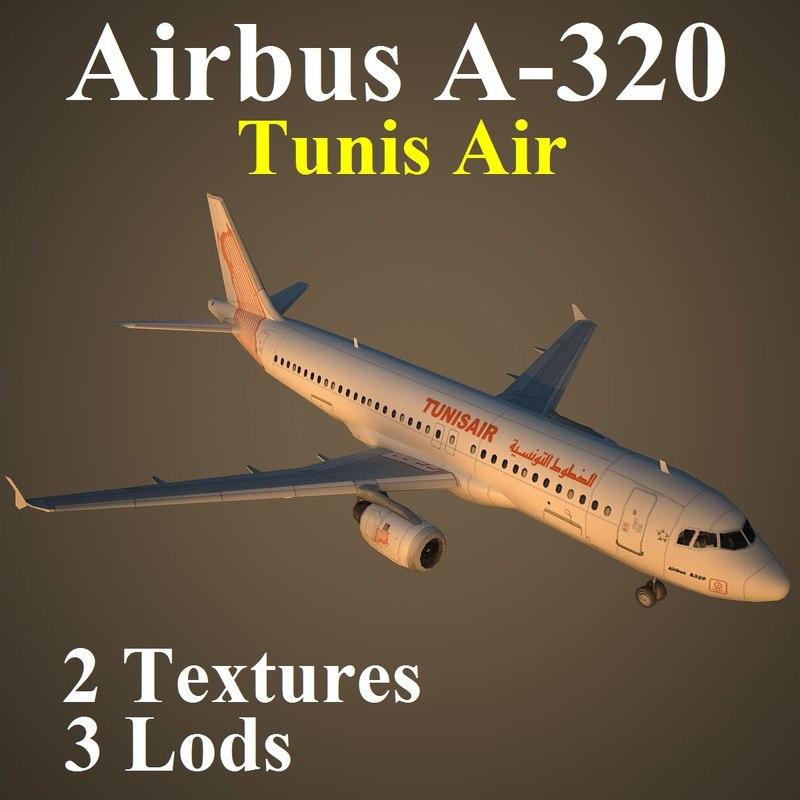airbus tar 3d max