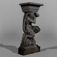 Dresden Statue Pan 04
