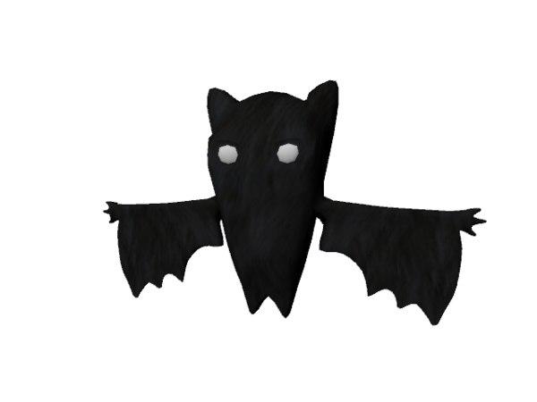 bat rigged s animation 3d ma