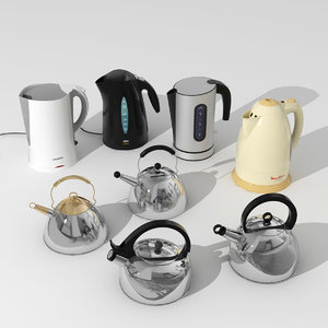 3ds max kettles