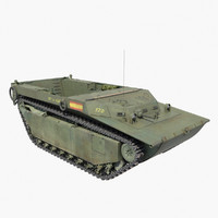lvt-4 water buffalo 3d model