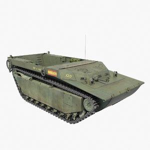 lvt-4 water buffalo 3d model