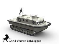 amphibious panzer 3d max