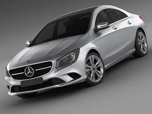 3d model mercedes cla 2013