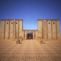 Egyptian Pharaoh Temple