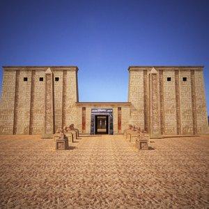 ian temple 3d max