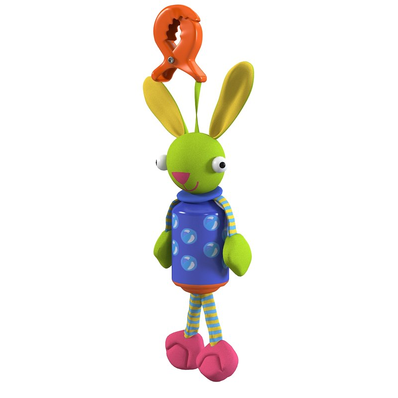 toy bunny baby 3ds