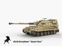 obj as-90 braveheart desert rats