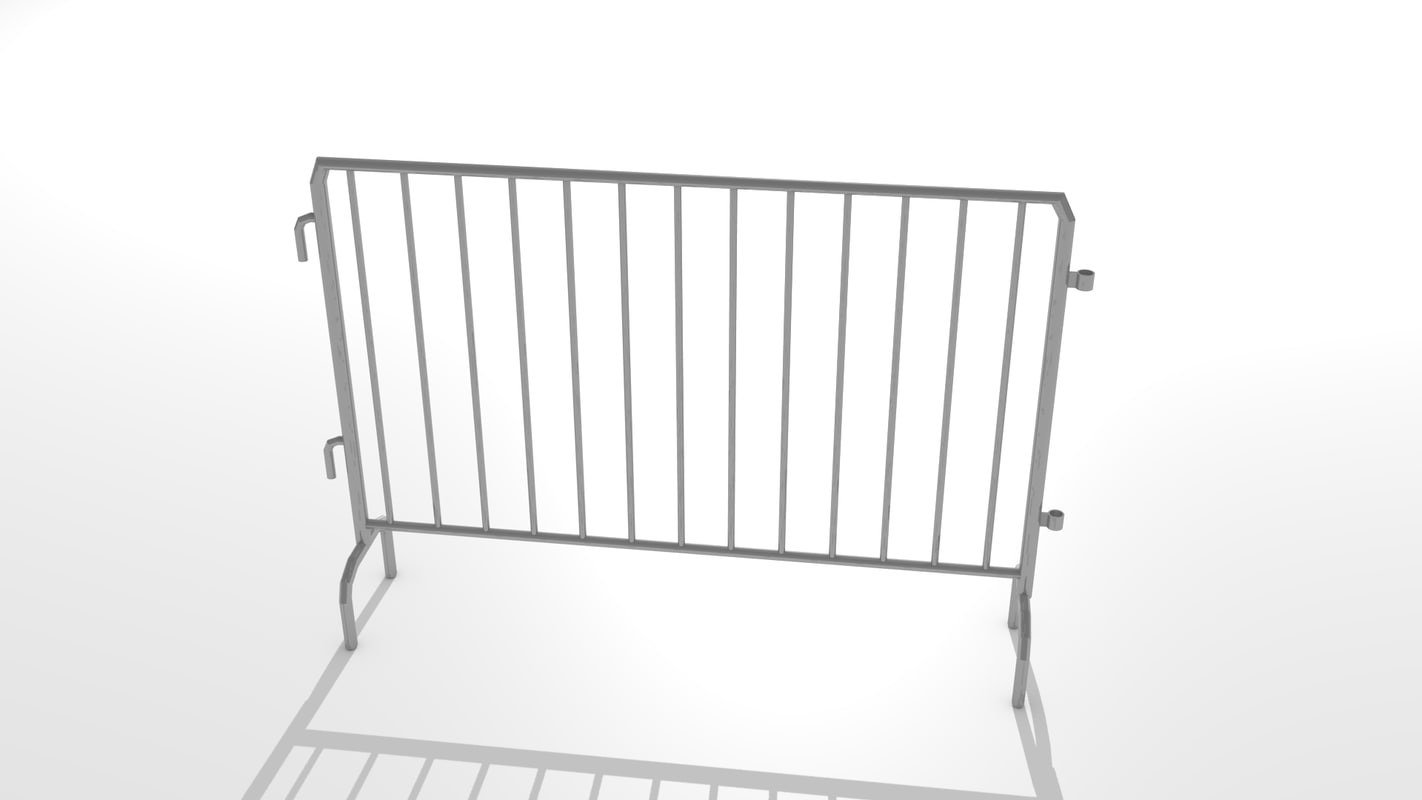 3ds max iron barrier