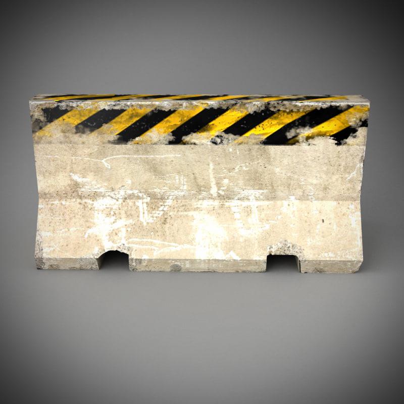 max barrier concrete