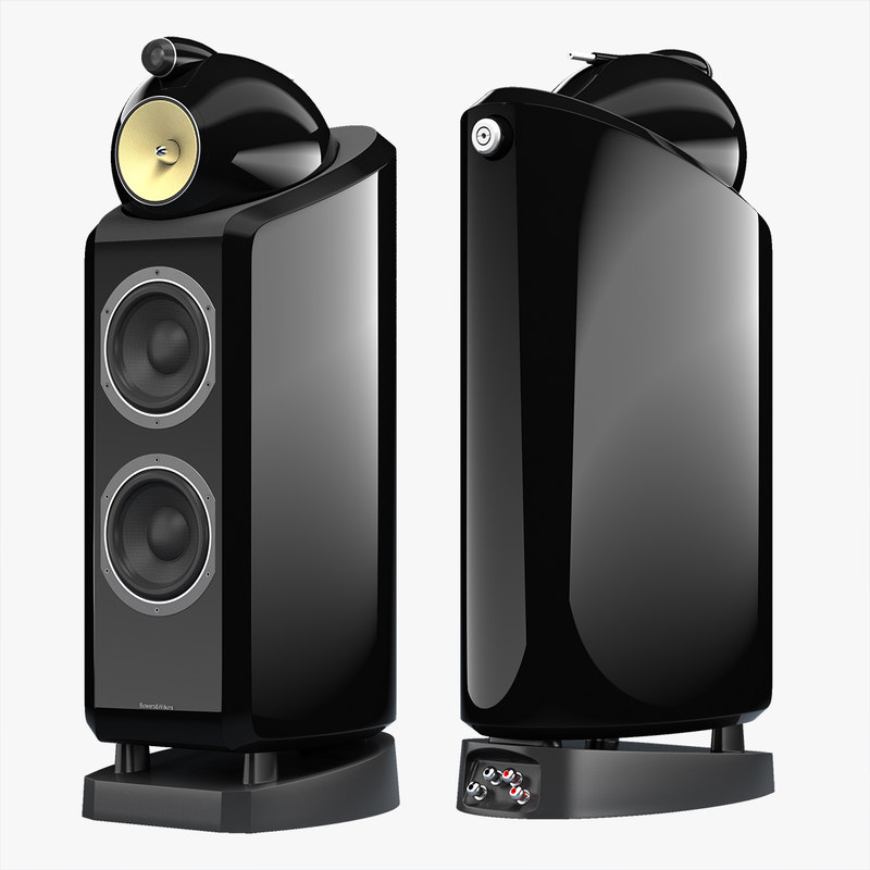 3d model bowers wilkins 802 diamond