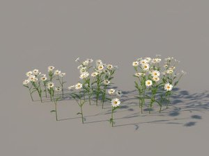 grass scattering 3d max