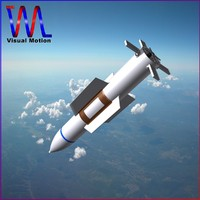 non- gbu-57 bomb 3d model