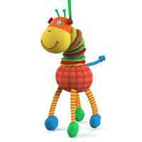 3dsmax giraffe toy