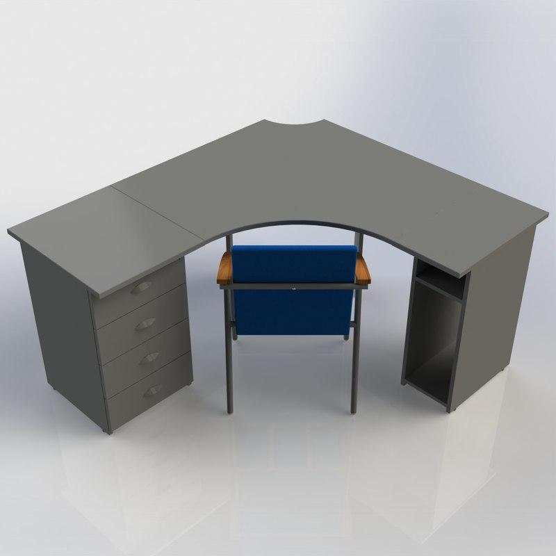 cabinet furniture office computer desk max