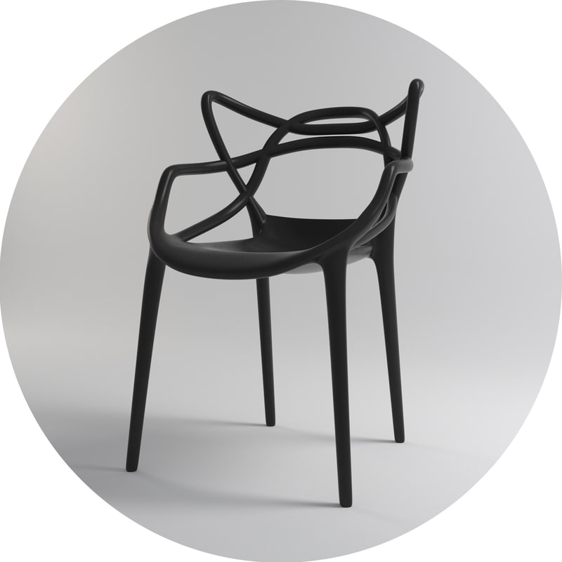 masters armchair - kartell max
