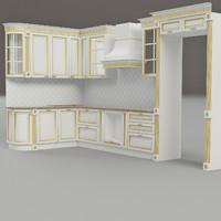 kitchen montecarlo 3d 3ds