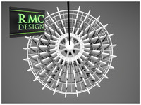 Chandelier 12 – By RMC Design