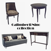 3d furniture galimberti nino model