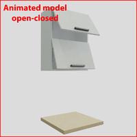 kitchen furnitures 60 cm 3d max