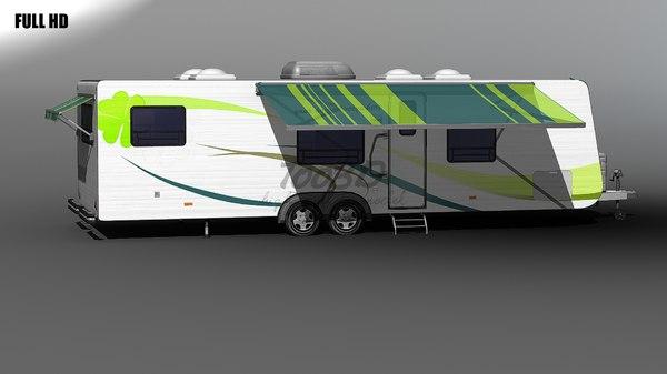 c4d rv trailer