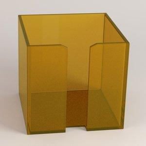3d of pencil cup