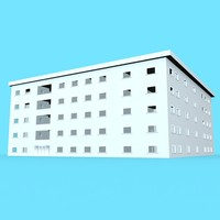 free office building 3d model