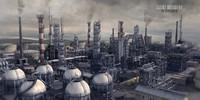 3d model giant refinery