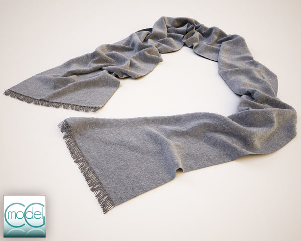 3dsmax scarf