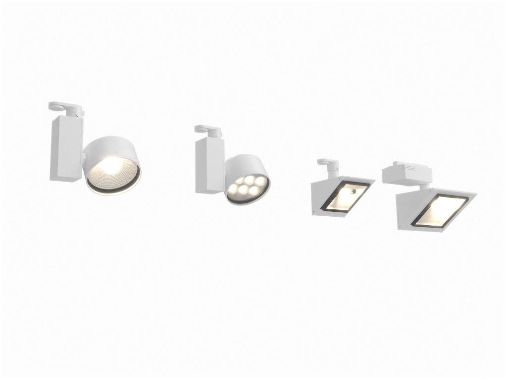 erco optec track spotlight 3d max