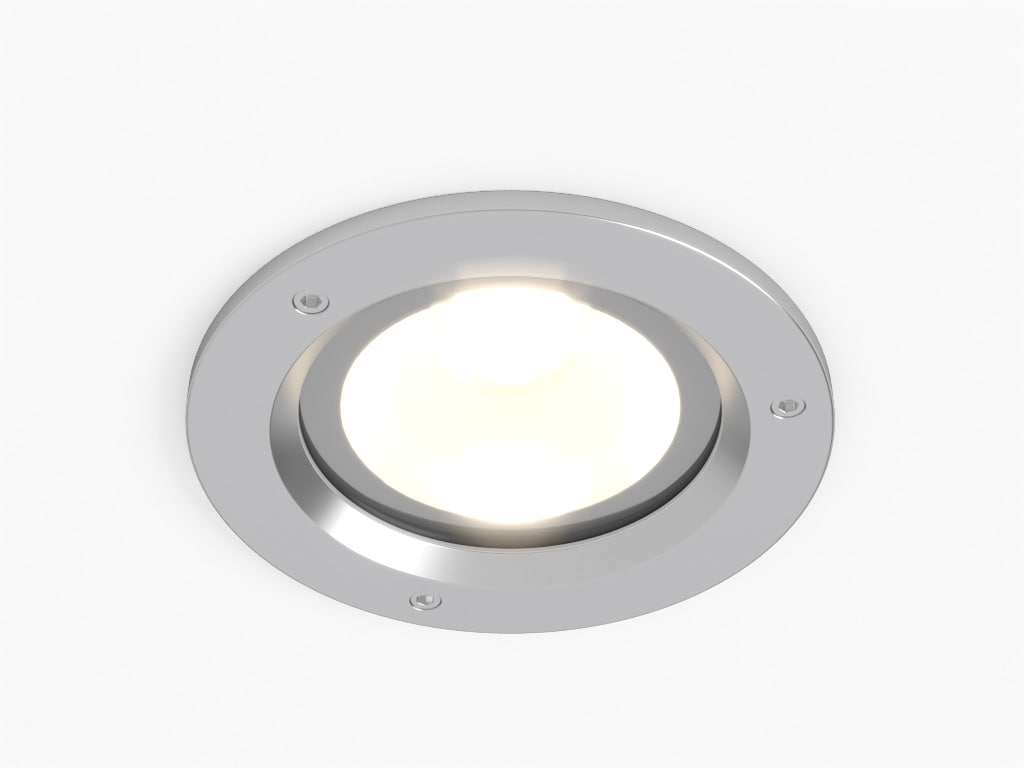 3d model erco outdoor lightcast downlight