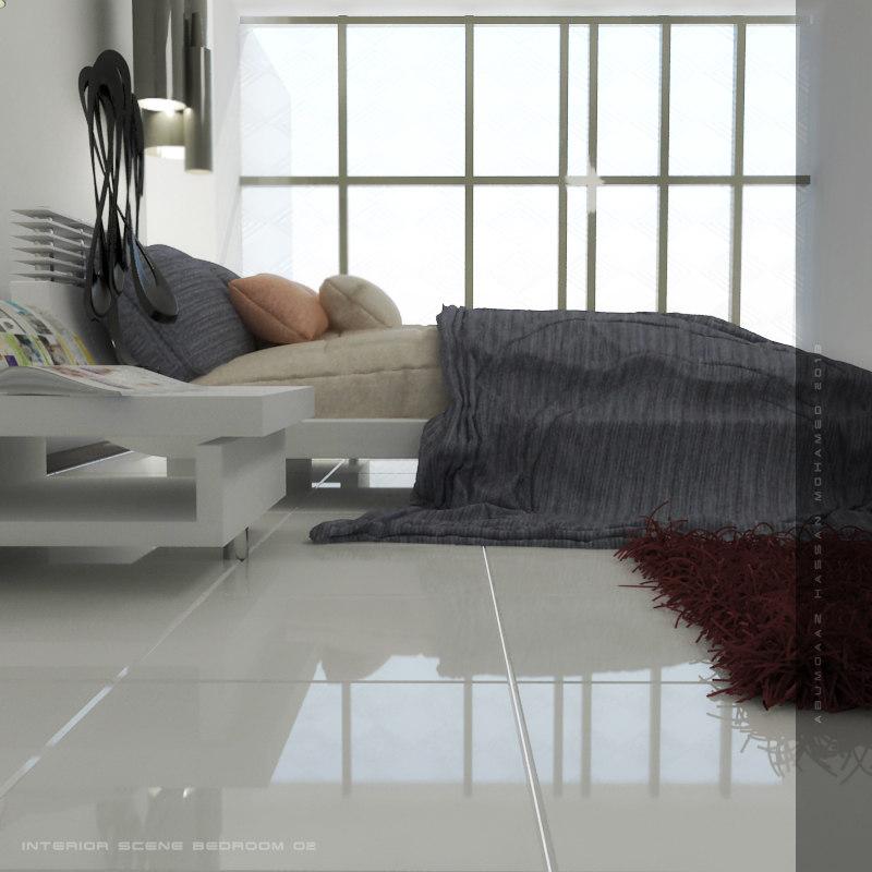 max bed bedroom interior