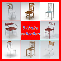 3d pack chairs