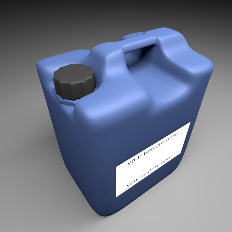 3ds max fertilizer tank